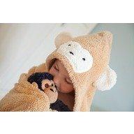 CuddleDry Prosop de baie maimutica pentru juniori