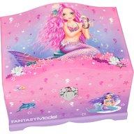 Depesche - Cutie bijuterii cu lumini Fantasy Model, Roz