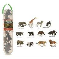 Collecta - Cutie cu 12 minifigurine Animale salbatice