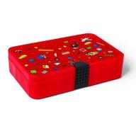LEGO - Cutie de sortare Iconic, Rosu