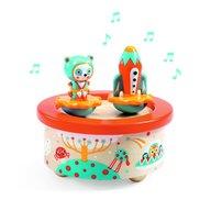Djeco - Cutie muzicala magnetica Spatiu