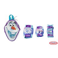 DArpeje - Set protectie Frozen in rucsac (genunchiere, cotiere, protectie incheieturi)