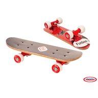 DArpeje - Mini skateboard Funbee 43 cm, Rosu