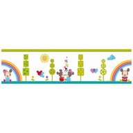 Decofun - Bordura autoadeziva perete 5m Mickey&Minnie