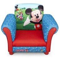 Delta Children - Fotoliu cu cadru din lemn Disney Mickey Mouse