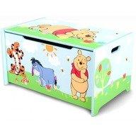 Delta Children Ladita din lemn pentru depozitare jucarii Disney Winnie the Pooh