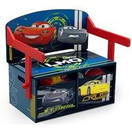 Delta Children - Mobilier 2 in 1 pentru depozitare jucarii Cars Team