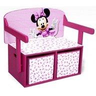 Delta Children Mobilier 2 in 1 pentru depozitare jucarii Disney Minnie Mouse