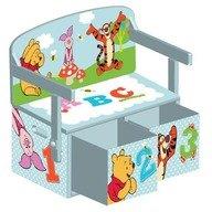 Delta Children Mobilier 2 in 1 pentru depozitare jucarii Disney Winnie The Pooh