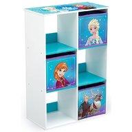 Delta Children - Organizator cu cadru din lemn pentru carti si jucarii Frozen Cube