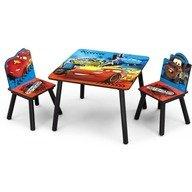 Delta Children - Set masuta si 2 scaunele Disney Lightning McQueen