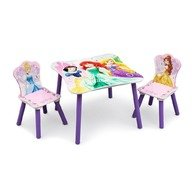 Delta Children - Set masuta si 2 scaunele Disney Princess Friendship