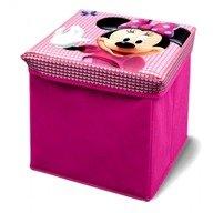 Delta Children Taburet si cutie depozitare jucarii Disney Minnie Mouse