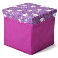 Delta Children Taburet si cutie depozitare jucarii Hello Kitty