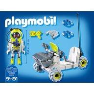 Playmobil - Denford si tricicleta spatiala