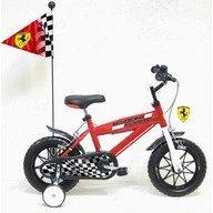 Denver Bicicleta Ferrari 12'' cu steag si casca