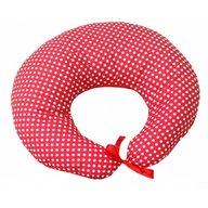 Deseda Colac 3 in 1 pentru alaptat si joaca Confort Buline rosii