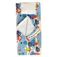 Deseda - Set 3 piese de iarna paturica cu cearsaf si pernuta pentru pat 120x60 cm, Oraselul
