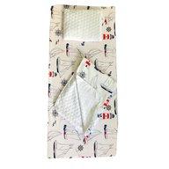 Deseda - Set 3 piese de iarna paturica cu cearsaf si pernuta pentru pat 160x80 cm, Farul