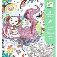 Djeco - Deseneaza si descopera, Sirene