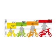 Dino Bikes - Bicicleta cu pedale , Pompierul Sam, 12