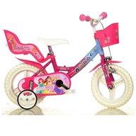 Dino Bikes - Bicicleta cu pedale , Disney Princess, 12