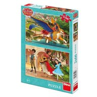 Dino Toys - Puzzle 2 in 1 Elena din Avalor 66 piese