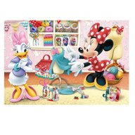 Dino Toys - Puzzle 2 in 1 Minnie cea harnica 66 piese