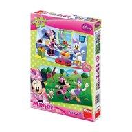 Dino Toys - Puzzle 2 in 1 prietena mea Minnie 66 piese