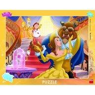 Dino Toys - Puzzle cu rama Frumoasa si Bestia 40 piese