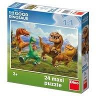 Dino Toys - Puzzle de podea Dinozauri 24 piese