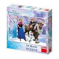 Dino Toys - Puzzle de podea Frozen 24 piese
