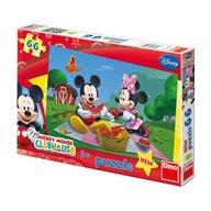 Dino Toys - Puzzle la picnic cu Mickey si Minnie 66 piese