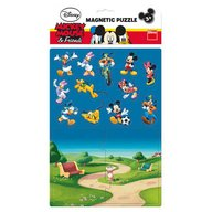 Dino Toys - Puzzle magnetic Mickey si prietenii 16 piese