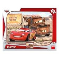 Dino Toys - Puzzle peripetii cu Lightning McQueen 12 piese