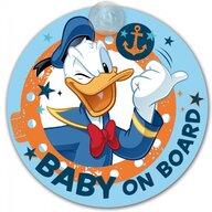 Disney Eurasia Semn de avertizare Baby on Board Donald Duck Disney Eurasia 25030