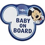 Disney Eurasia Semn de avertizare Baby on Board Mickey Disney Eurasia 25008