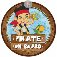 Disney Eurasia Semn de avertizare Pirate on Board Jake Disney Eurasia 25033