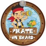 Disney Eurasia Semn de avertizare Pirate on Board Jake Disney Eurasia 25033
