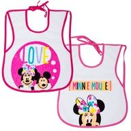 Disney Eurasia Set 2 bavetele Minnie Disney Eurasia 32566