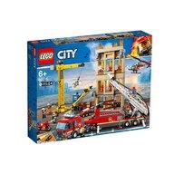 Lego - Divizia pompierilor din centrul orasului