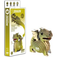 Brainstorm Toys - Puzzle DIY Animale 3D Eugy, Dragon