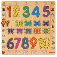 Djeco Puzzle din lemn - Cifre