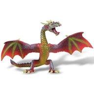 Bullyland - Figurina Dragon, Rosu
