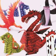 Djeco - Dragoni din hartie