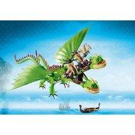 Playmobil - Dragons - Gemeni cu Barf si Belch