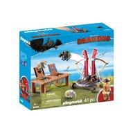 Playmobil - Dragons - Gobber si lansatorul de oi
