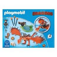 Playmobil - Dragons - Snotlout si Hookfang