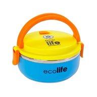 Eco Life - Castron termos Rotund 700 ml, Albastru