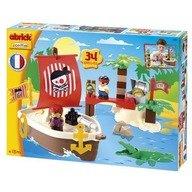 Ecoiffier Set constructii Comoara Piratilor